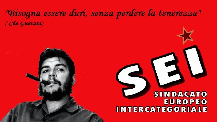 logoseimodificato con frase Che Guevara (SEI ottobre 2017)