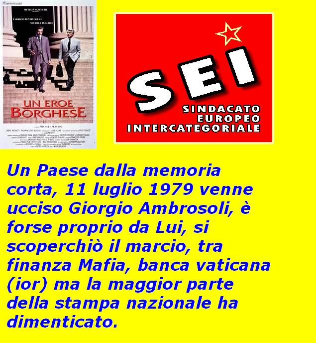Giorgio Ambrosoli SEI luglio 2016