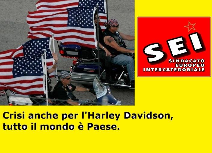 Crisi L'Harley Davidson (SEI luglio 2017)