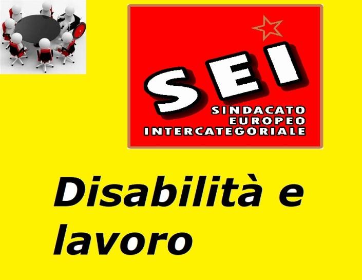 Disabilita e lavoro (SEI gennaio 2018)