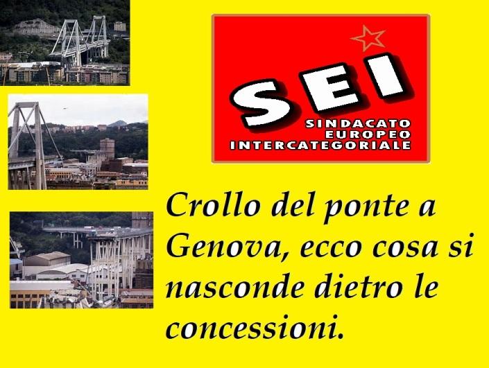 Ponte di Genova agosto 2018 (SEI)